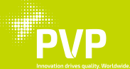 PVP - Innvotion drives quality. Worldwide. Logo